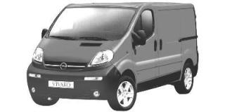 Vauxhall / Opel Vivaro (2001 - 2006)